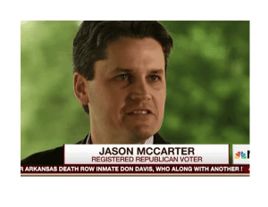 Jason McCarter- 6th district Republican that voted for Jon Ossoff